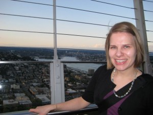 Top of Space Needle- Aug 2008
