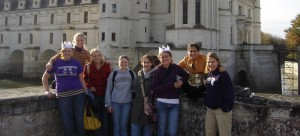 UW French Studies visits Chenonceau, France 2006