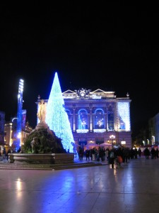 les 3 graces, the xmas tree, and l'opera :)