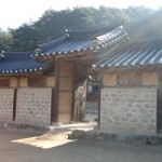 Traditional Korean building
