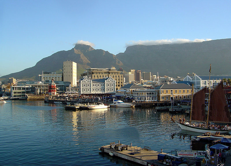 Working as an English teacher in Cape Town