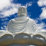 The great Buddha statue in Nha Trang, Vietnam.