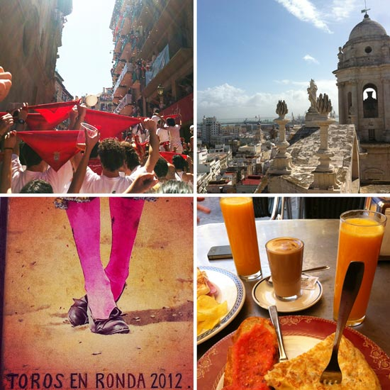 Images of Spain by Claire Woodall