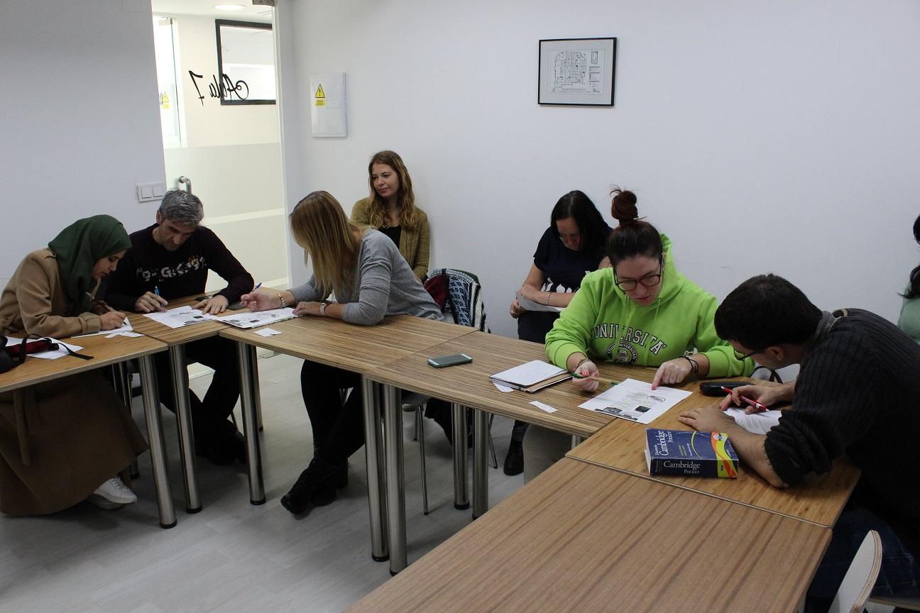 TEFL students in Granada